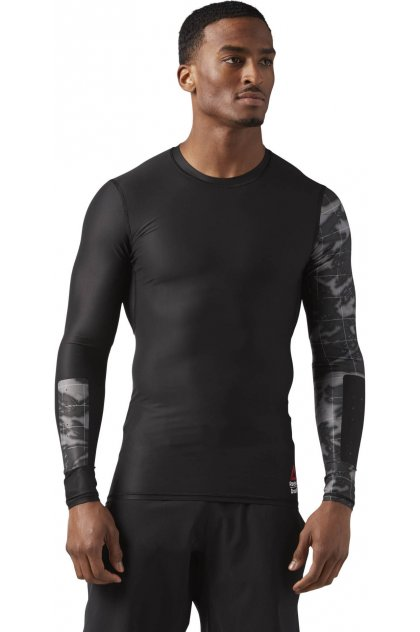 Reebok Camiseta manga larga Compression CrossFit