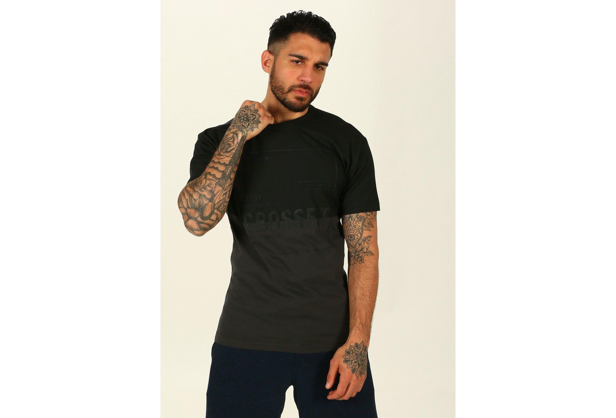 Reebok Crossfit 50/50 M Diététique Vêtements homme
