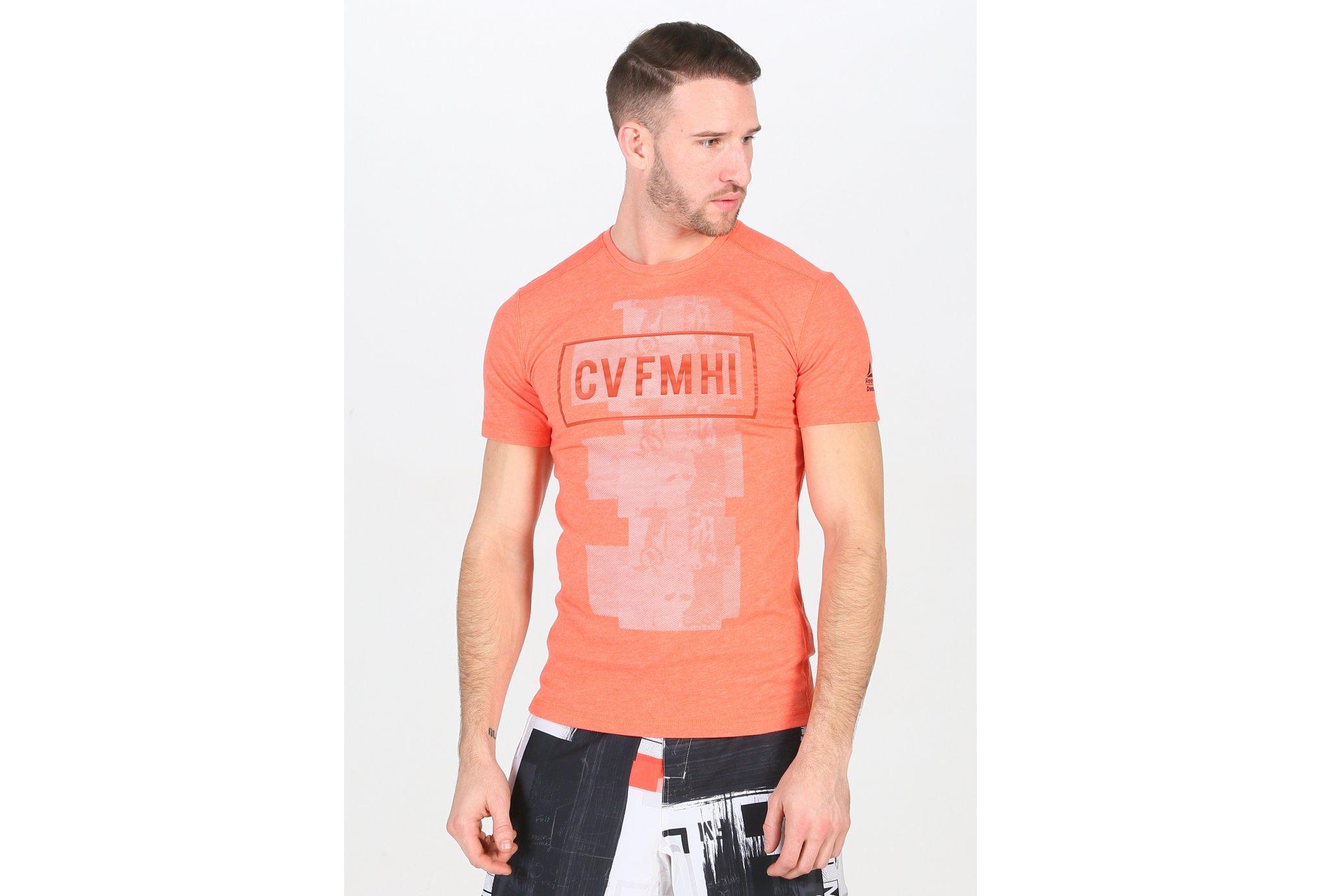 Reebok CrossFit Burnout M Diététique Vêtements homme