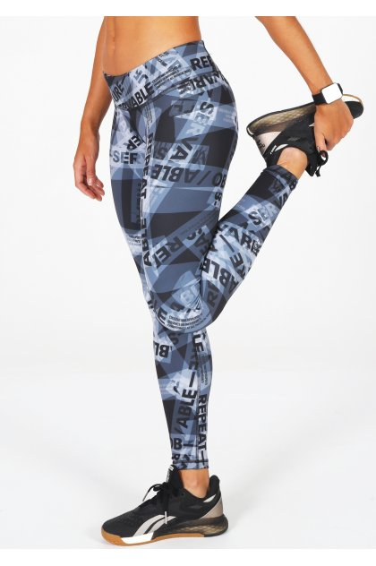Reebok Mallas largas CrossFit Lux AOP