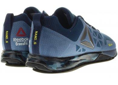 Reebok Chaussures CrossFit Nano 6.0 Bleu Z57r8705