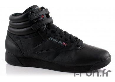 Reebok Freestyle HI Black W