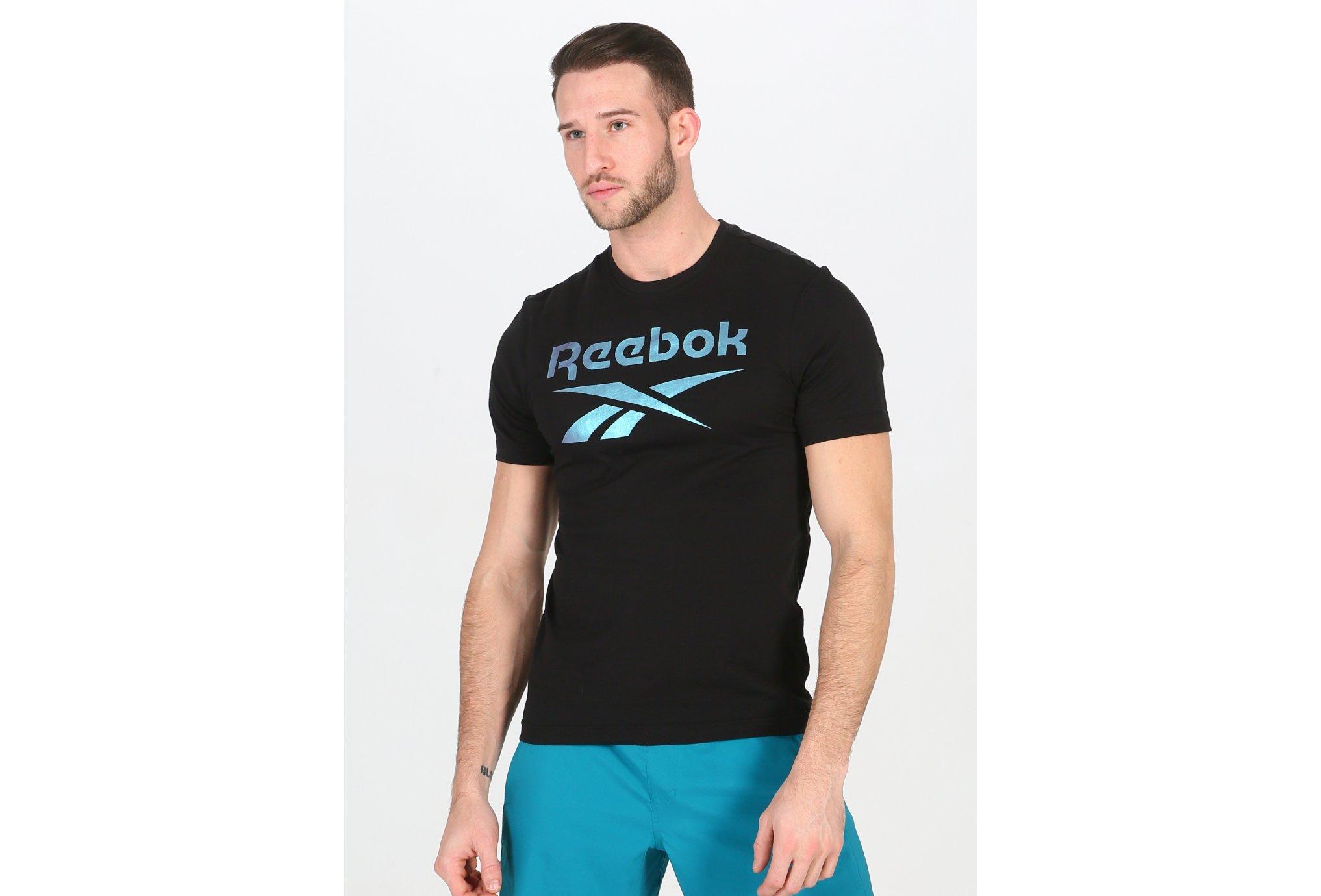 Reebok Graphic Series Stacked M Diététique Vêtements homme