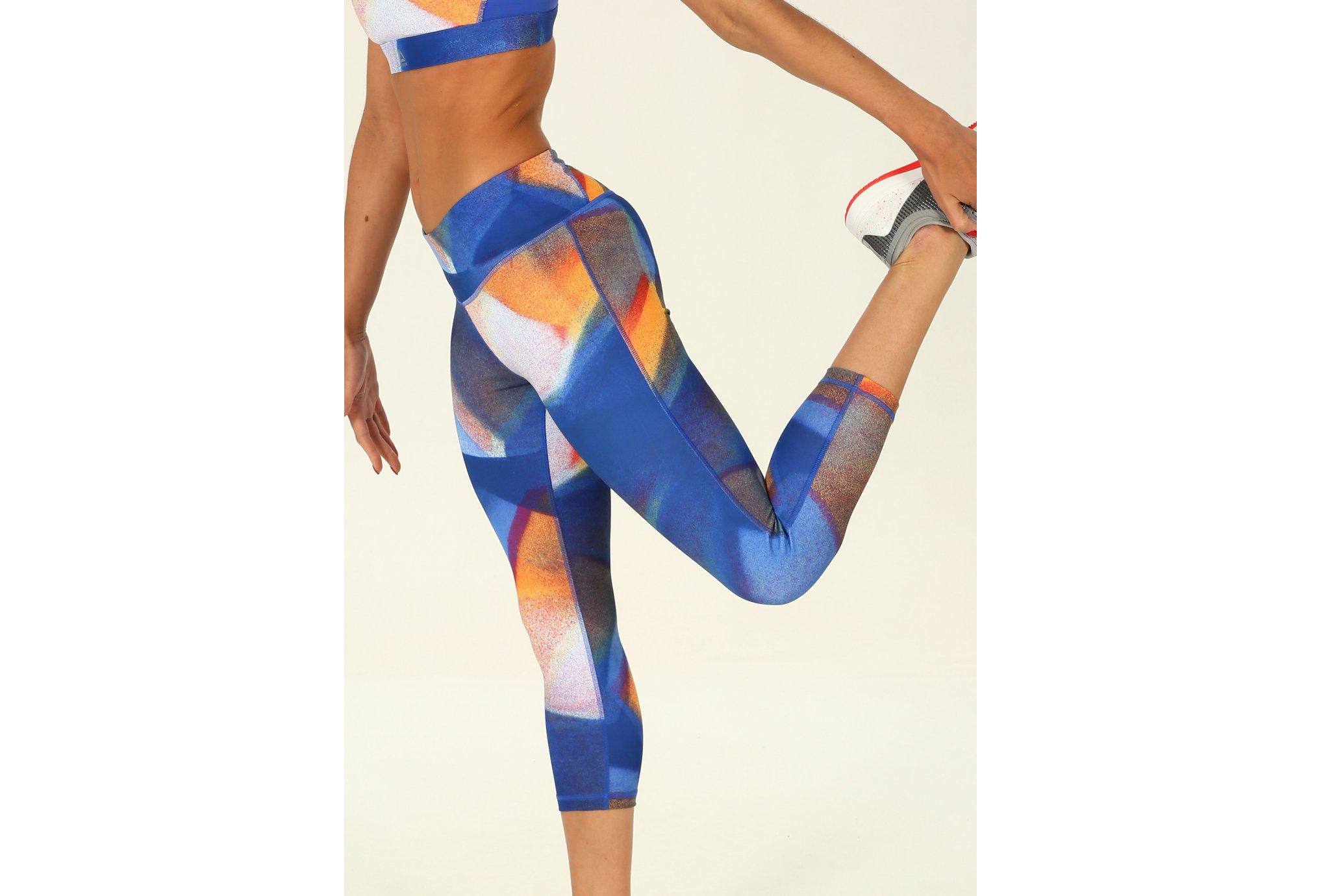 Reebok mallas 3/4 Lux Bold vêtement running femme
