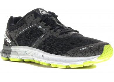 Reebok Sport One Cushion 3 Nite Blanc-Noir - Chaussures Chaussures-de-running Homme