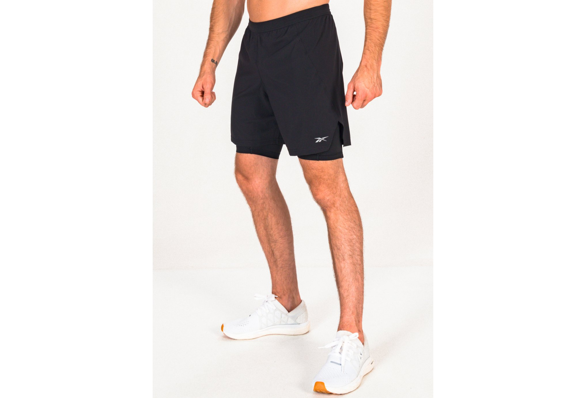 Reebok Running 2 en 1 M vêtement running homme