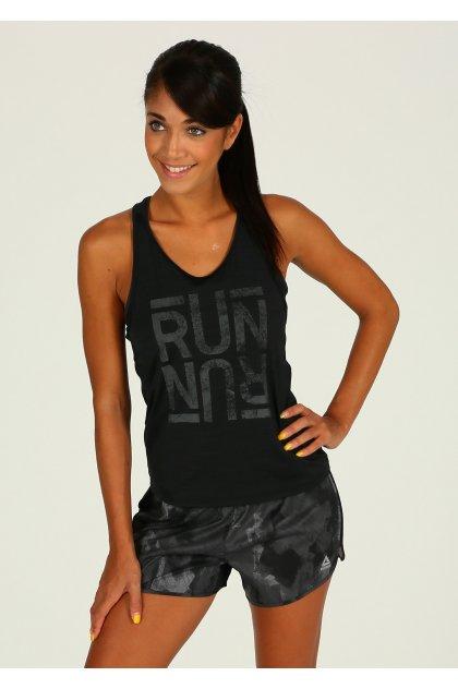 Reebok Camiseta de tirantes Running Activchill Graphic