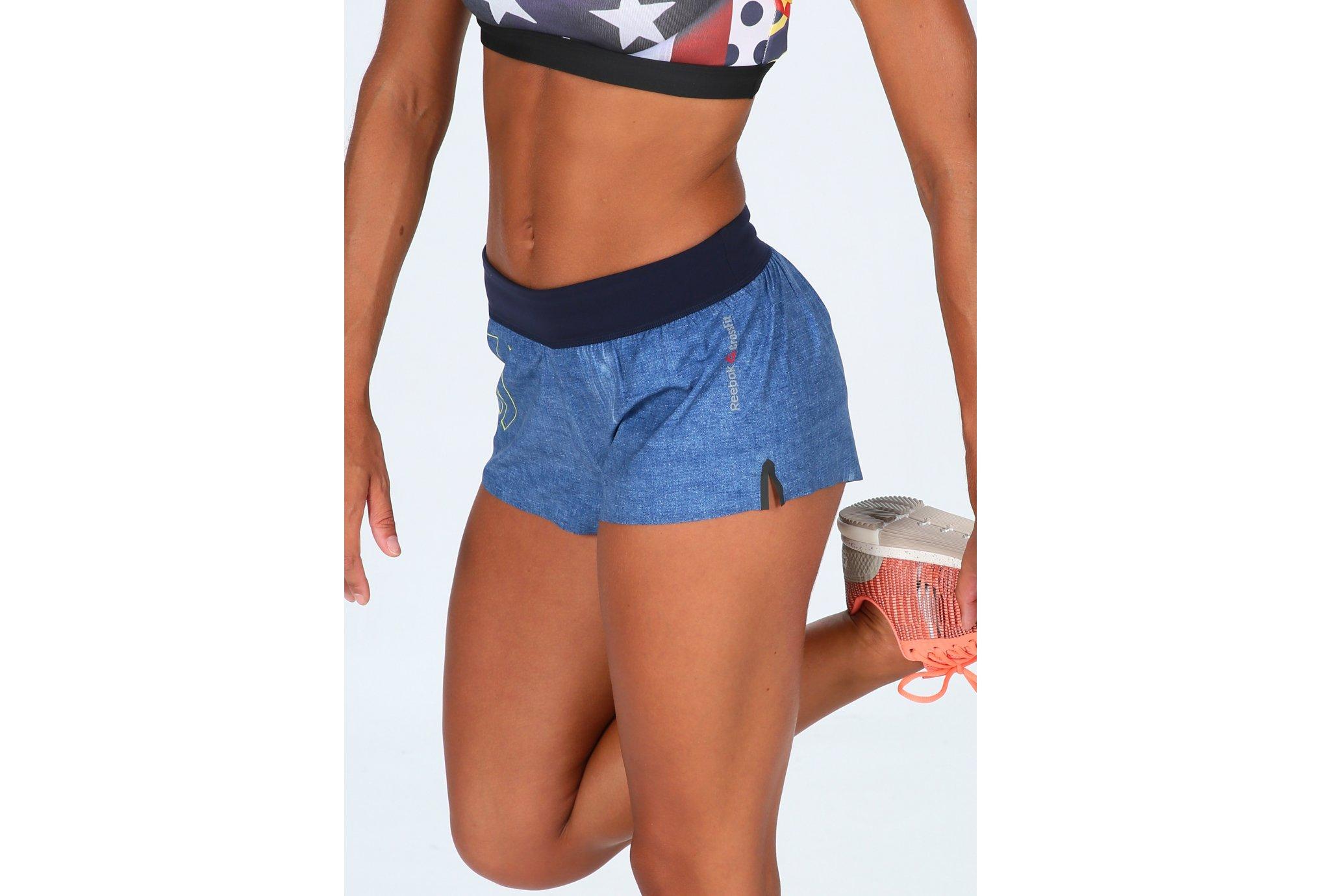 Reebok Short Crossfit Speed W vêtement running femme