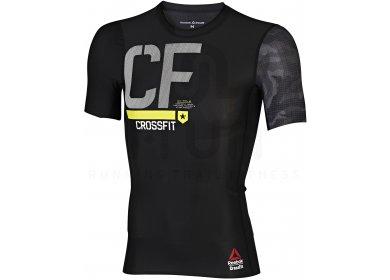 T shirt de compression Reebok CrossFit homme