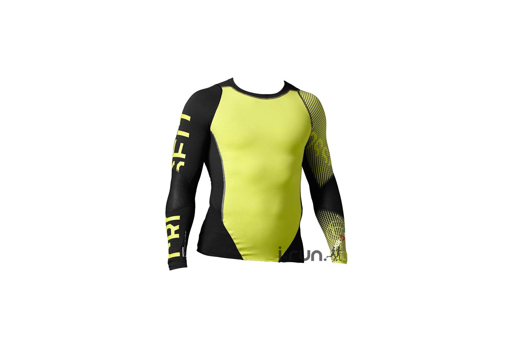 Reebok Tee-shirt CrossFit Midweight Compression M Diététique Vêtements homme