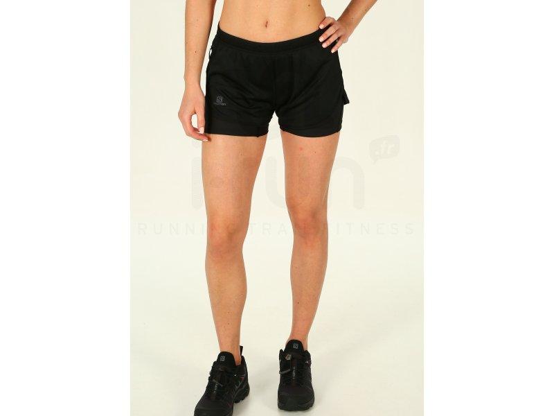 Femme Jupes Shorts 1 2 In Salomon Agile Vêtements Cuissards W v8nmNwO0