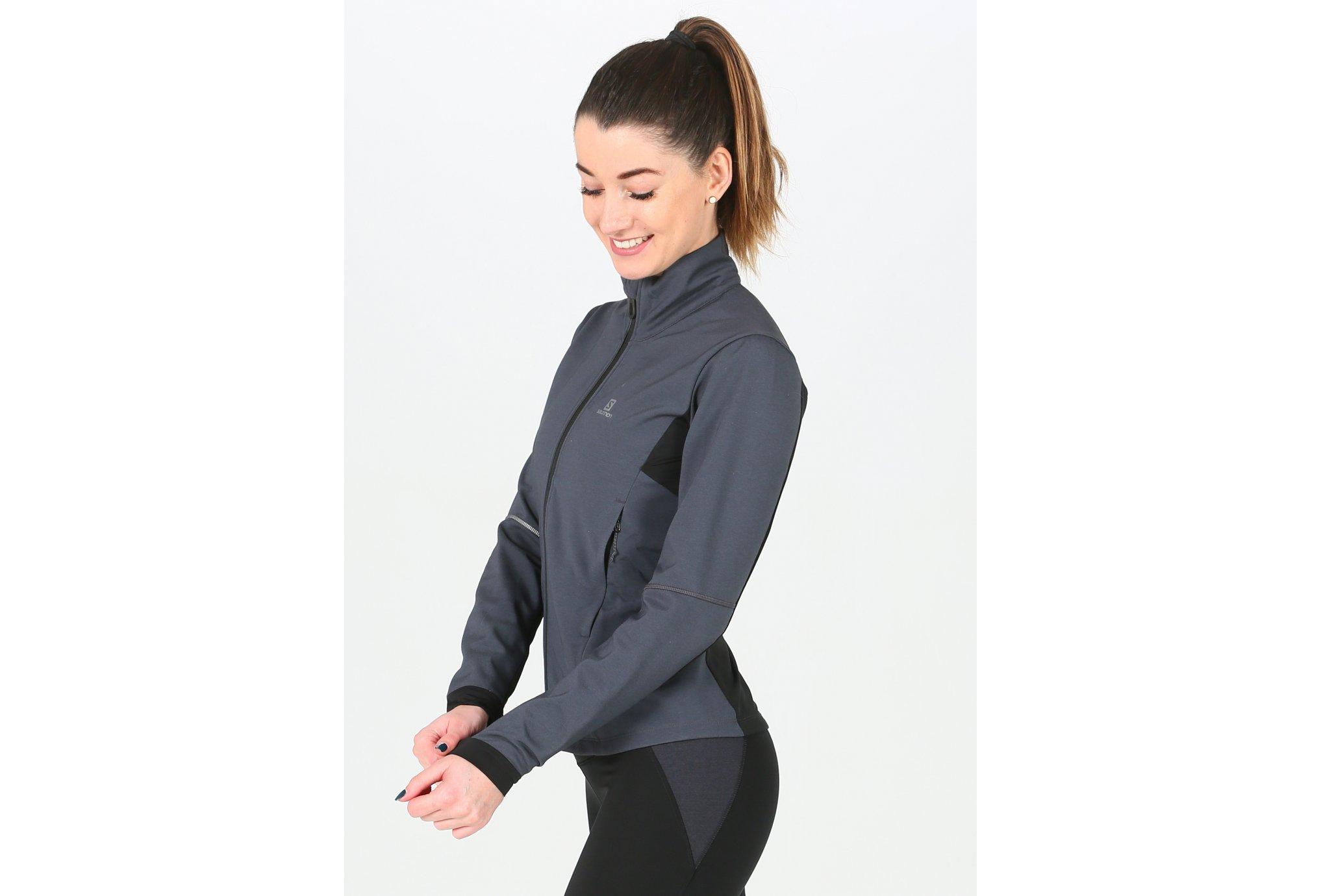 Salomon Agile Softshell W vêtement running femme