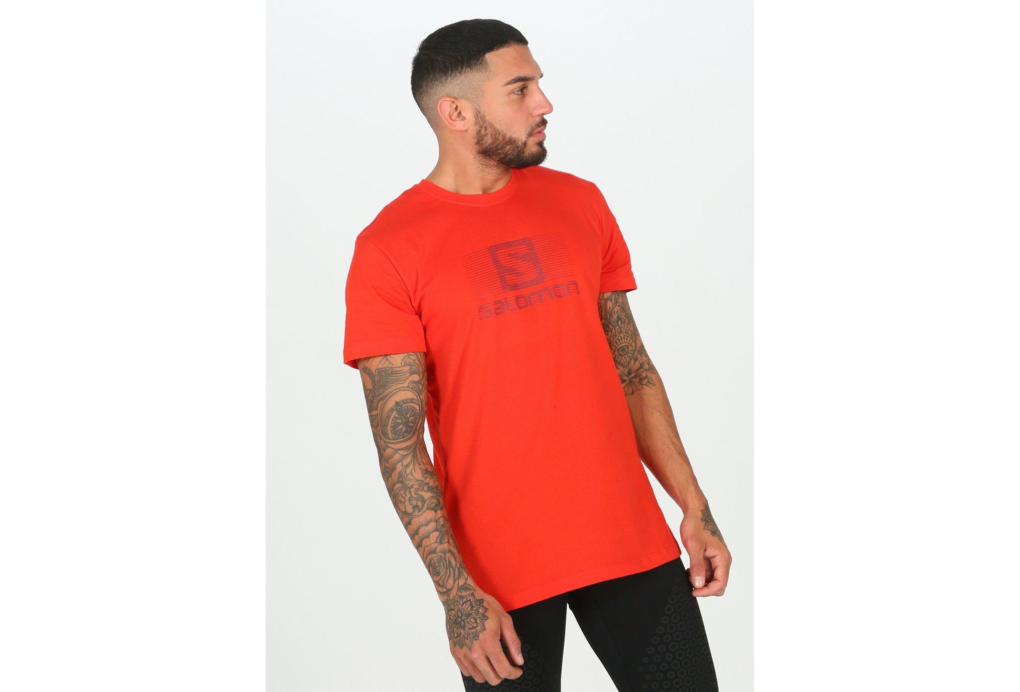 Salomon Blend Logo M vêtement running homme