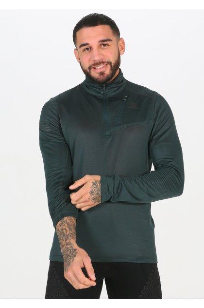 Salomon camiseta manga larga Grid HZ Mid