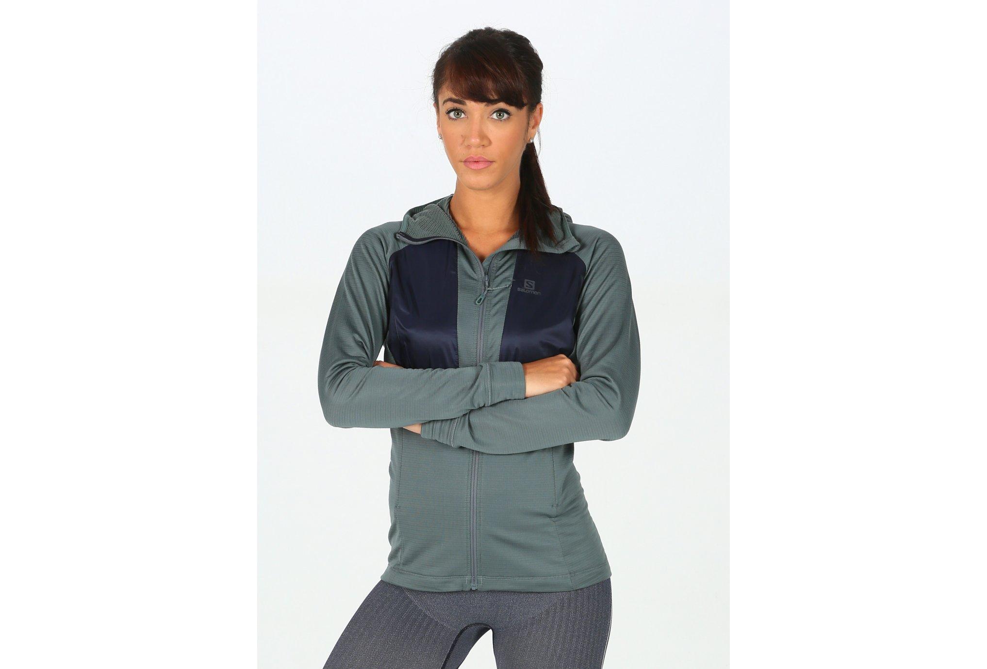 Salomon Grid Mid FZ W vêtement running femme