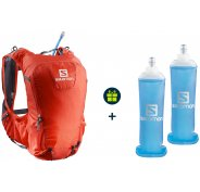 Salomon Pack Skin Pro 15 Set + 2 Soft Flask 500 ml offertes