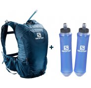Salomon Pack Skin Pro 15 Set + 2 Soft Flask Speed 500mL