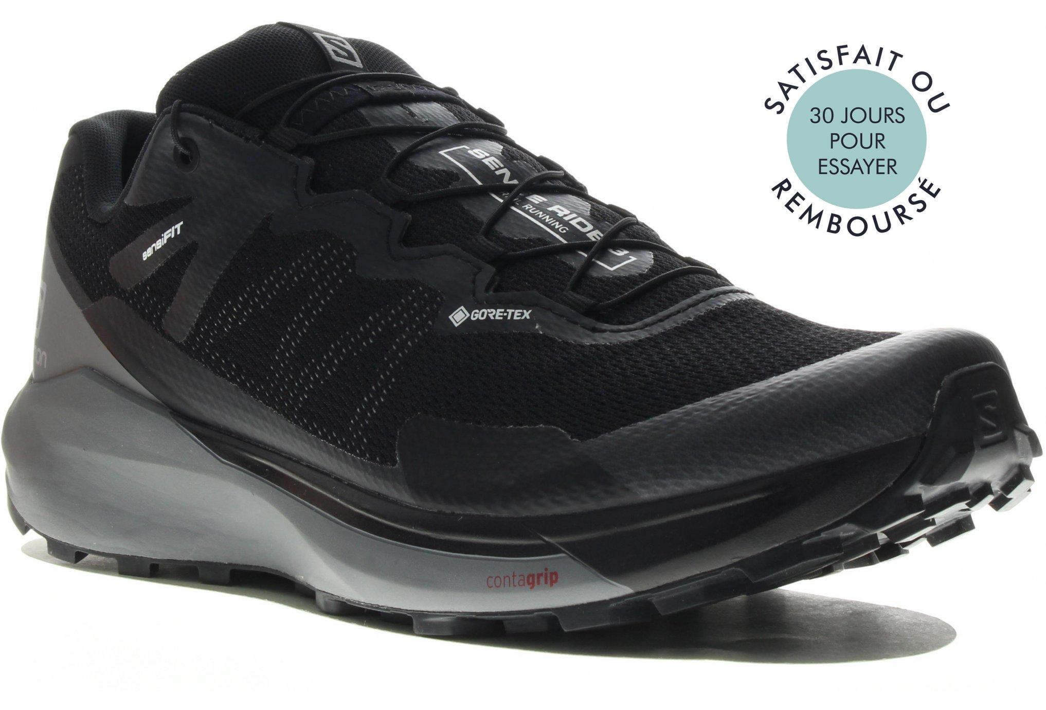 Salomon Sense Ride 3 Gore-Tex Invisible Fit M Chaussures homme