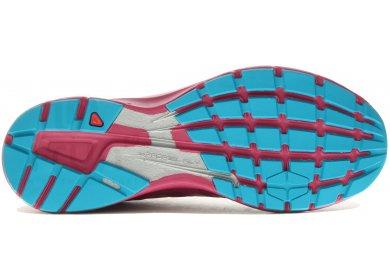 Short femme rose taille 5 Salomon Sonic Pro Chaussures de course