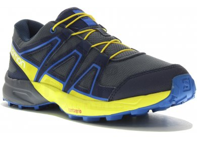 Bleu Pas Salomon Speedcross Homme Junior Cher rCQdtshx