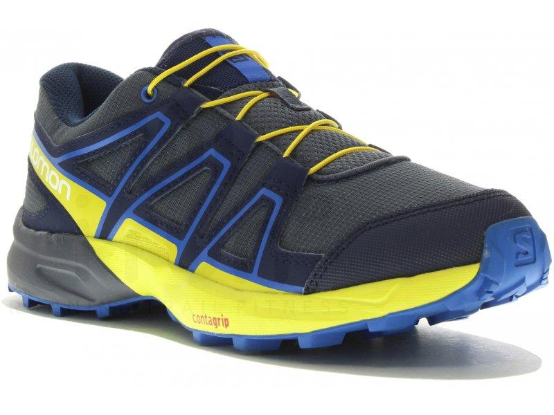 official supplier amazing selection elegant shoes Salomon Speedcross Junior homme Bleu pas cher