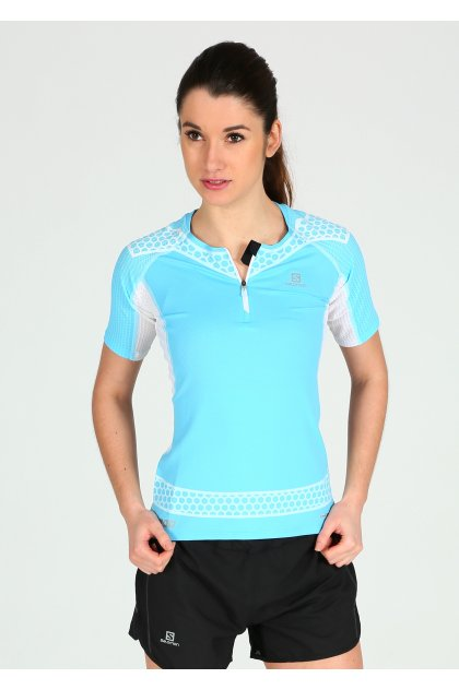 Salomon Camiseta manga corta Exo S-Lab Zip