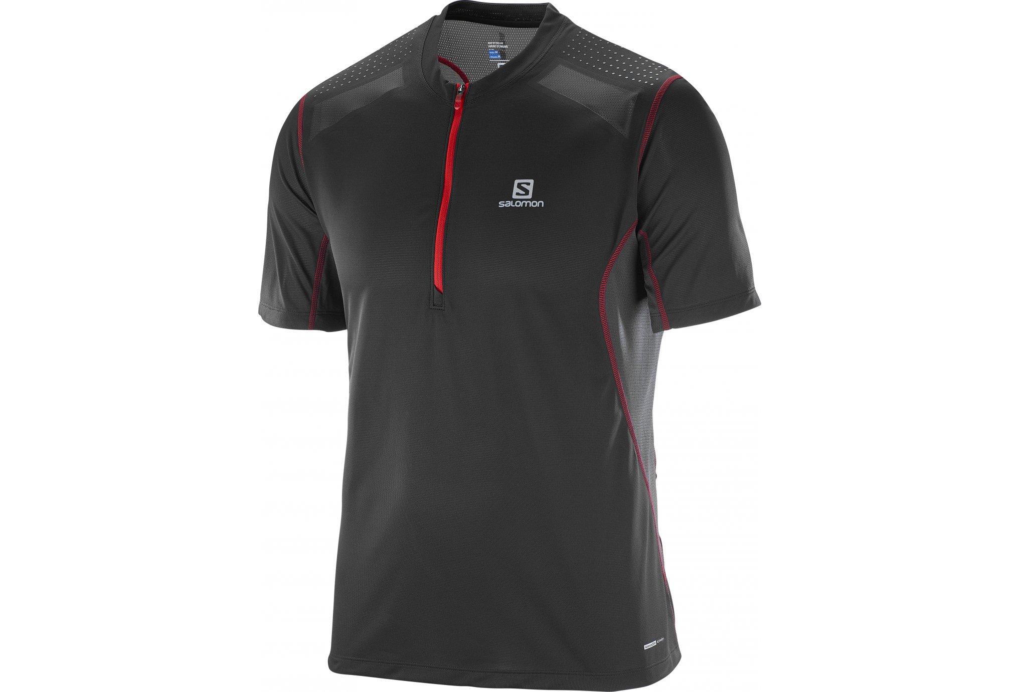 Salomon Tee-shirt Fast Wing M Diététique Vêtements homme