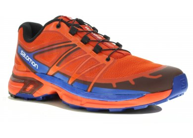 chaussure trail salomon, Salomon wings pro 2 bleu orange