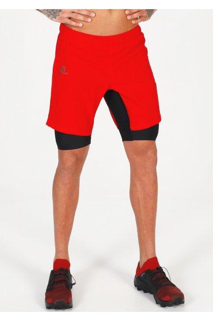 Salomon pantalón corto XA Twinskin