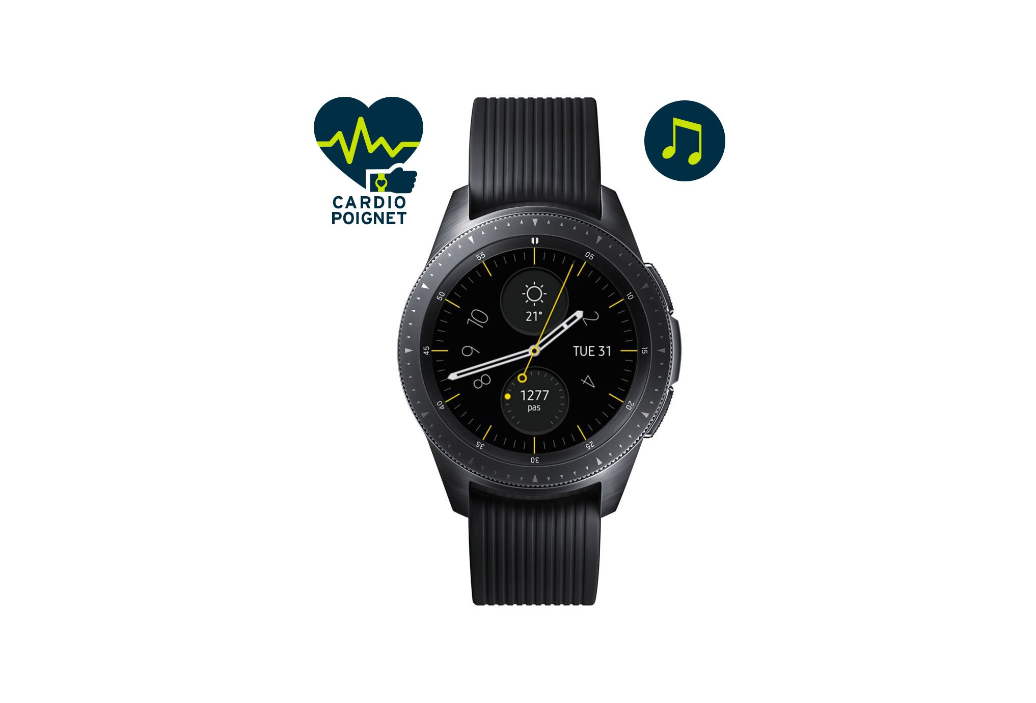 Samsung Galaxy watch 42 mm cardio-Gps