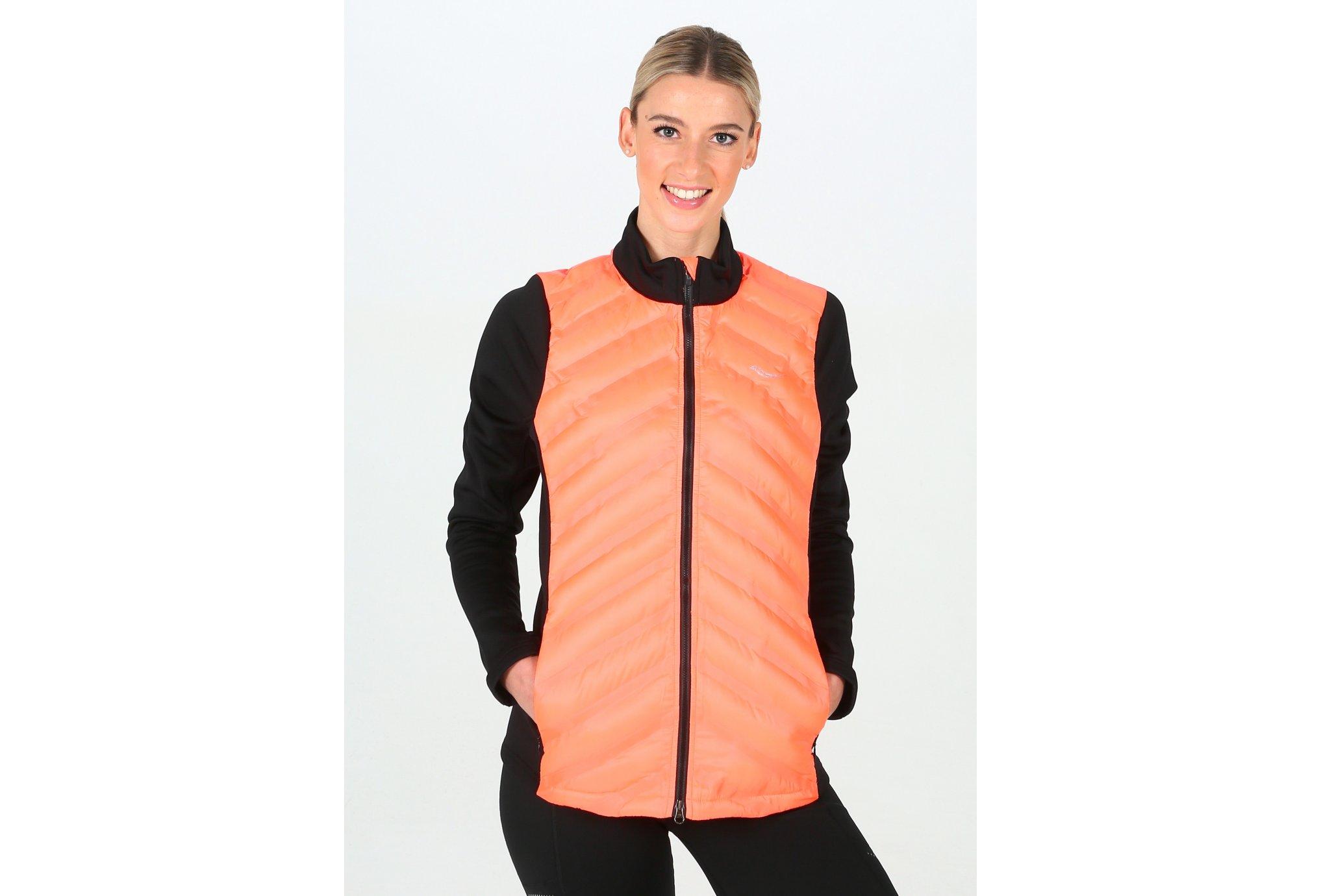 Saucony Bonded Baffle Hybrid W vêtement running femme