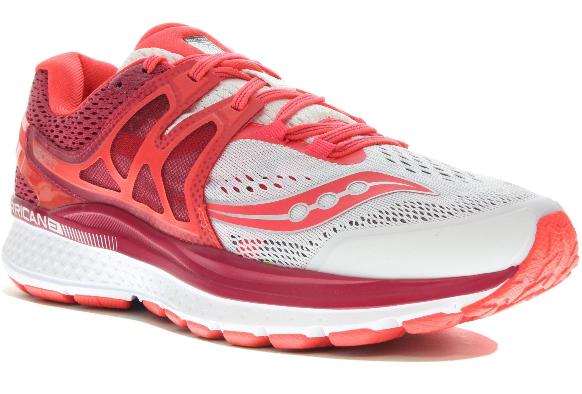 Saucony Hurricane ISO 3 W Diététique Chaussures femme