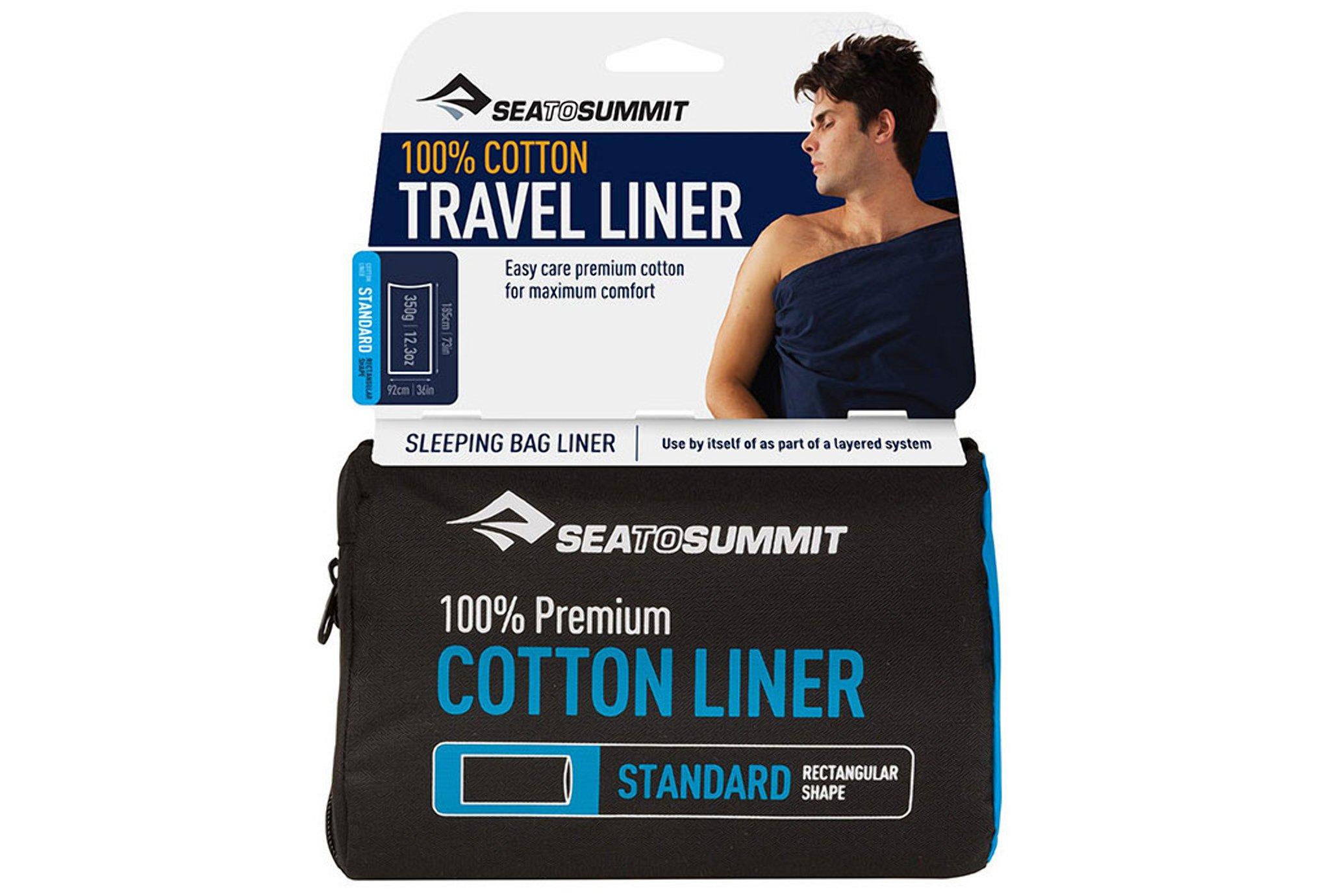 Sea To Summit Drap de sac Coton Standard Sac de couchage