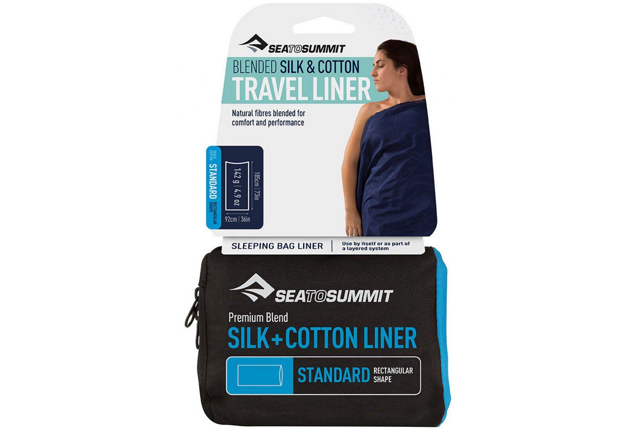 Sea To Summit Drap de sac Soie et Coton Standard Sac de couchage