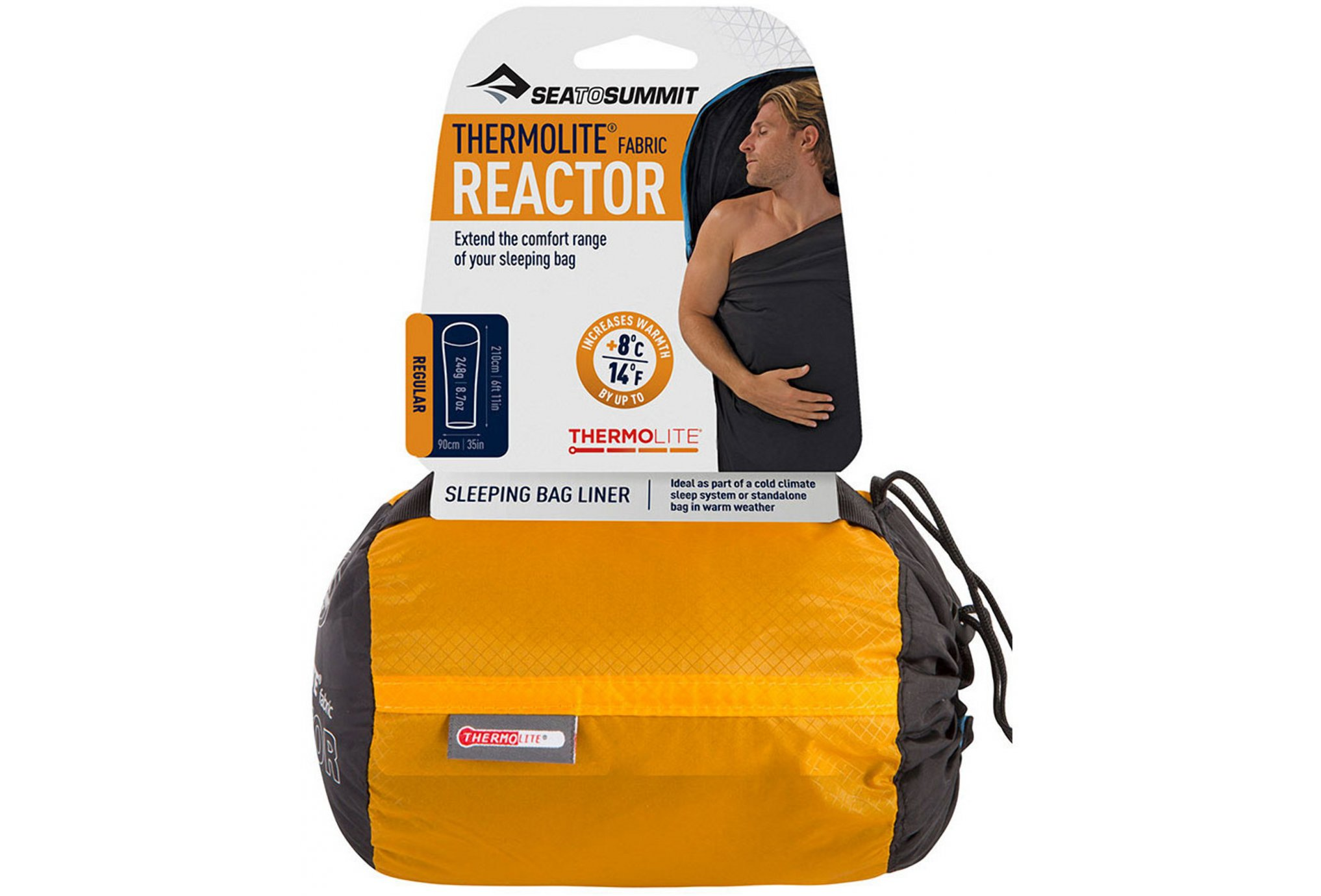 Sea To Summit Drap de sac Thermolite Reactor - R Sac de couchage