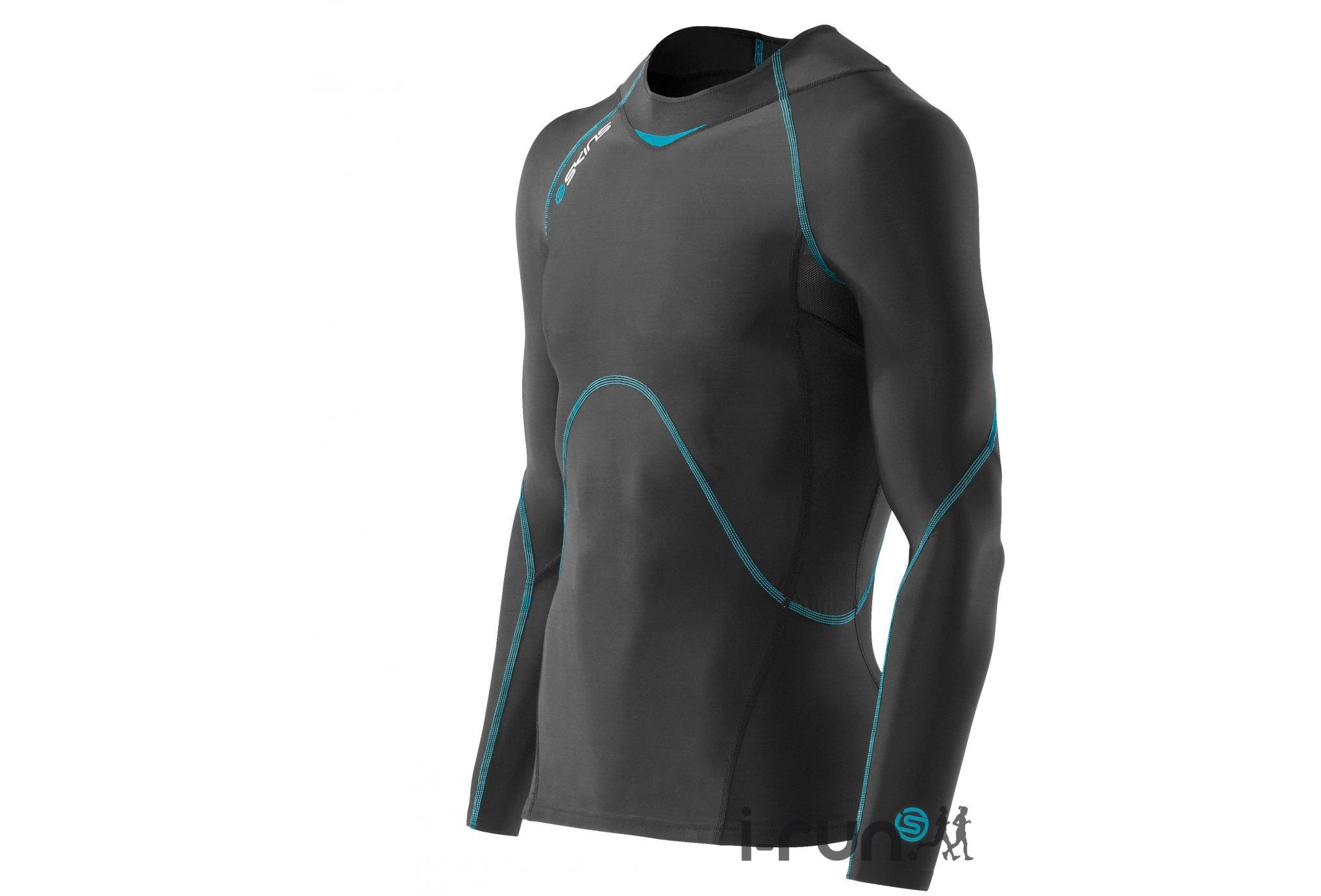 Skins Coldblack Compression LS M Diététique Vêtements homme