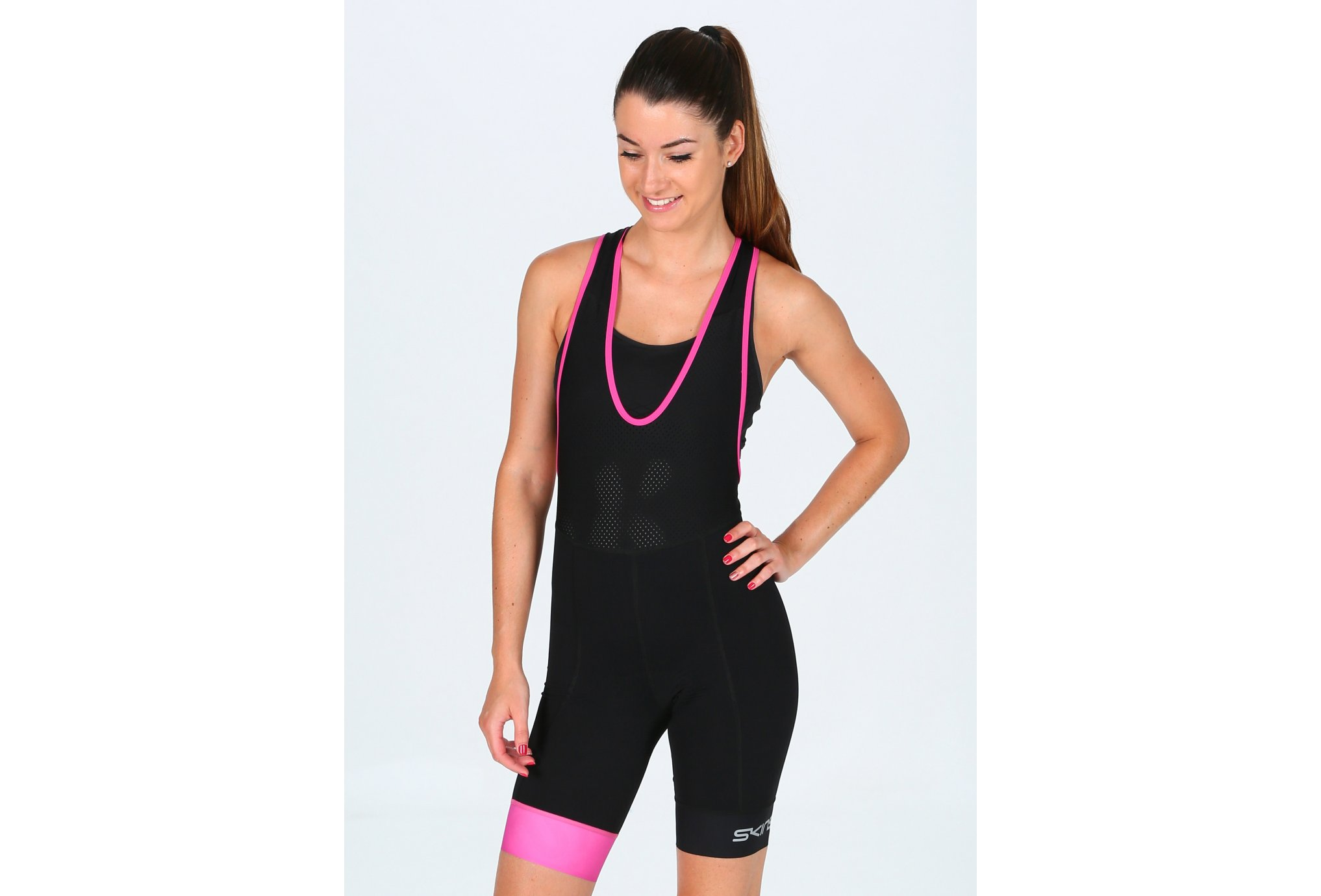 Skins Cycle DNAmic Bib W vêtement running femme
