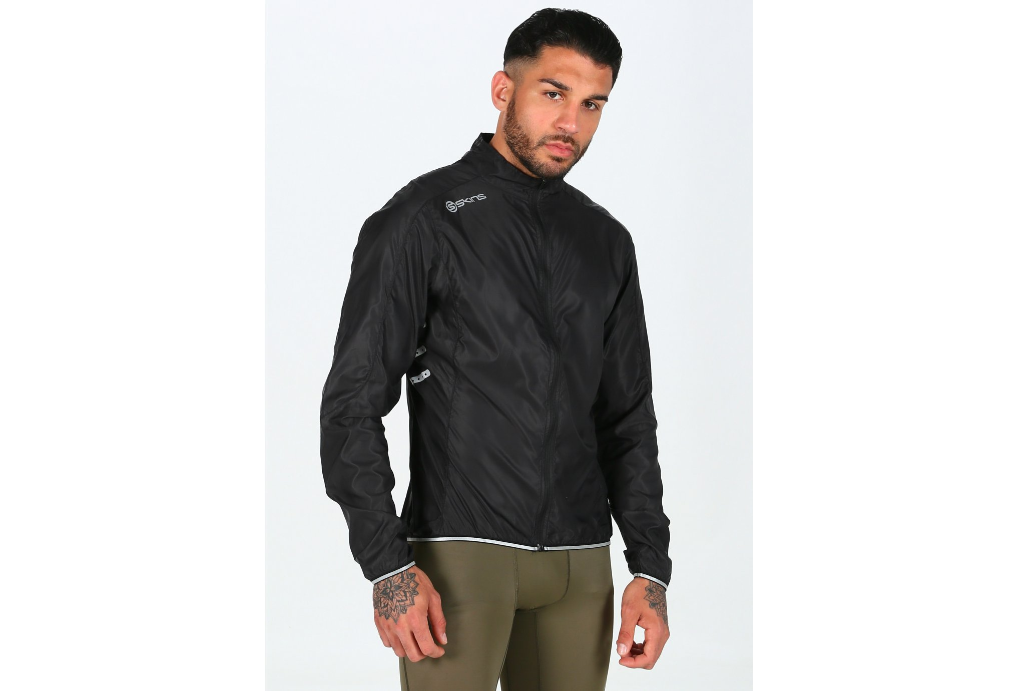 Skins Cycle Wind M vêtement running homme