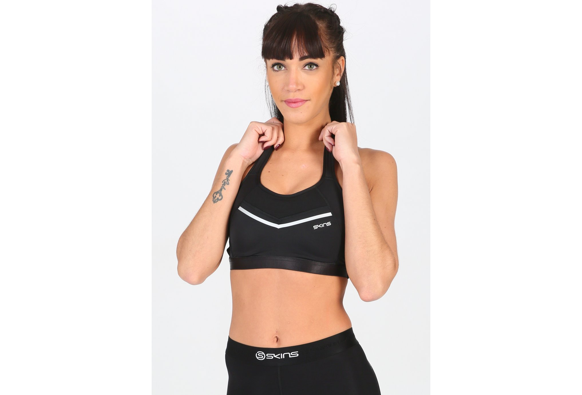 Skins DNAmic High Impact vêtement running femme
