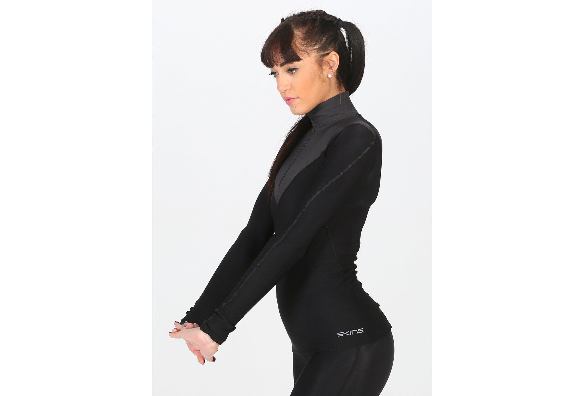 Skins DNAmic Thermal Zip W Diététique Vêtements femme