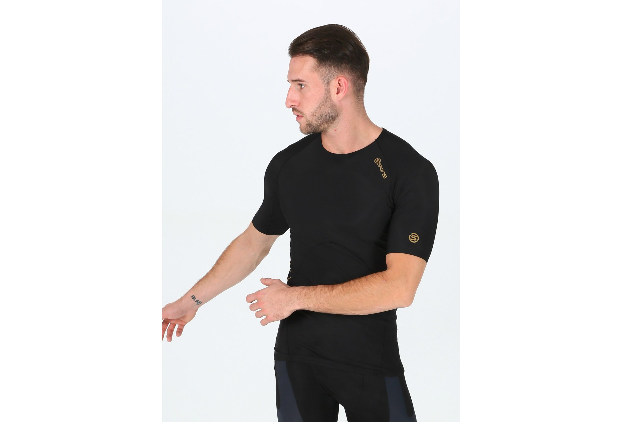 Skins Tee-Shirt Active 400 Top M vêtement running homme