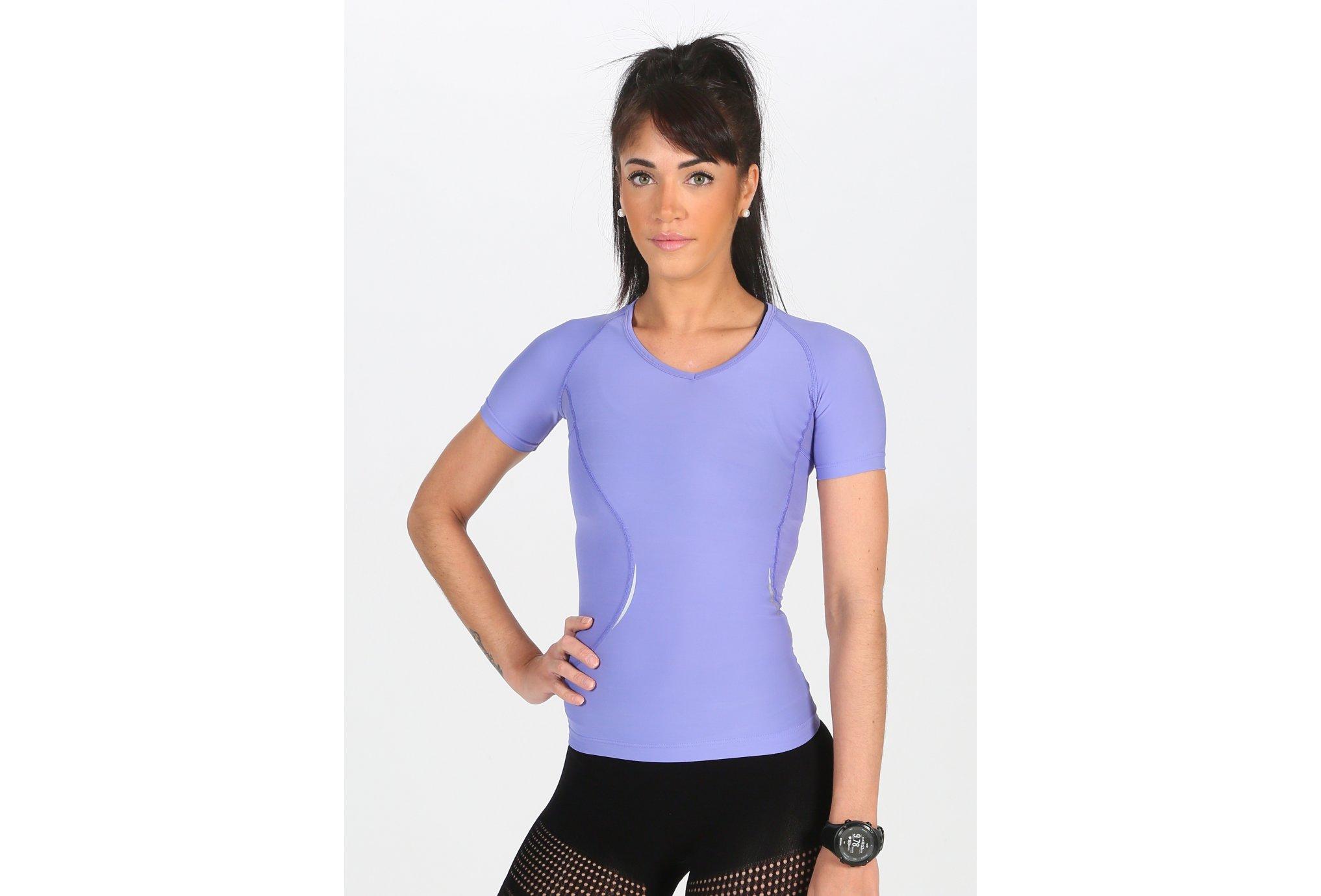 Skins Tee-shirt manches courtes A400 W Diététique Vêtements femme