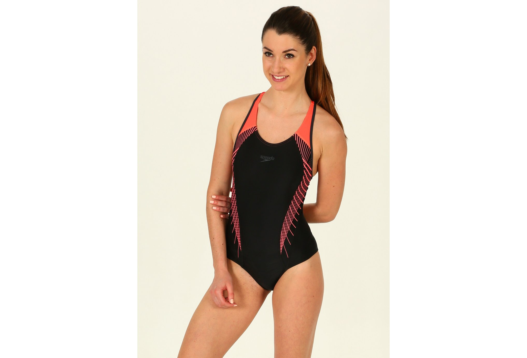 Speedo Fit Laneback W vêtement running femme