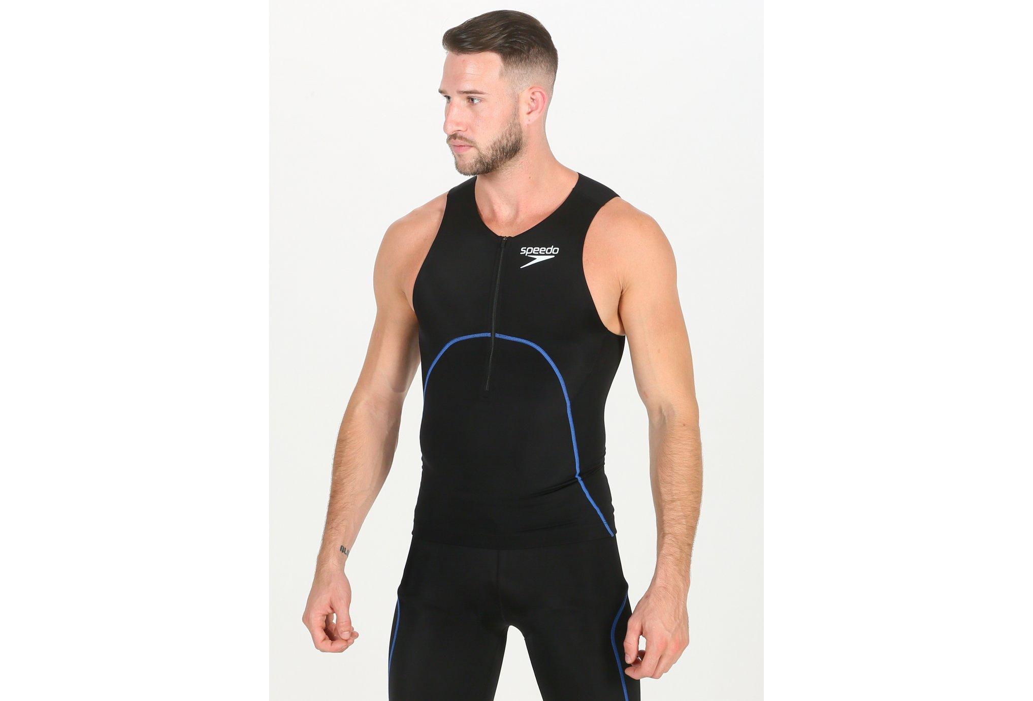 Speedo Proton Singlet M vêtement running homme