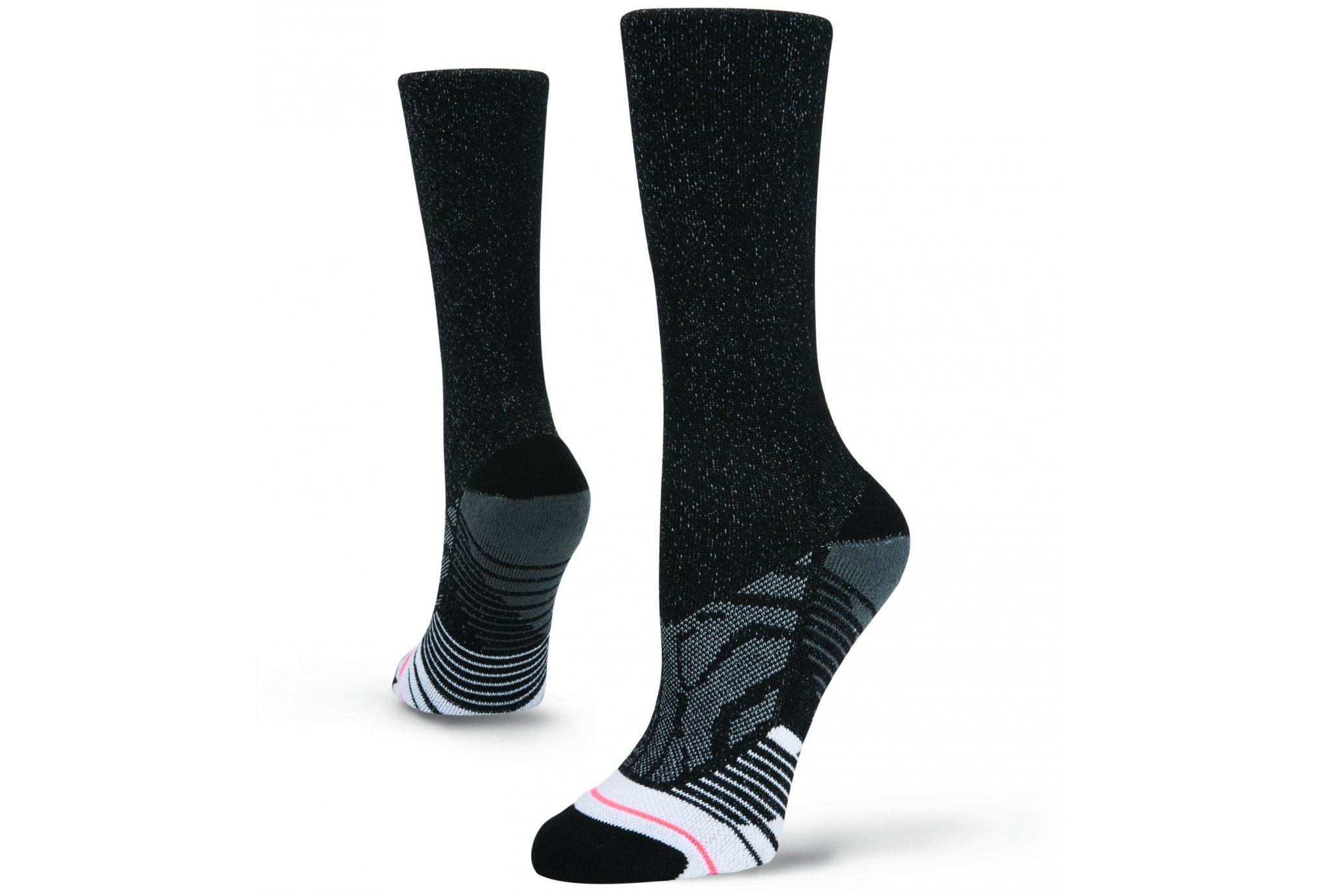 Stance Training Shiny Black Crew W Chaussettes