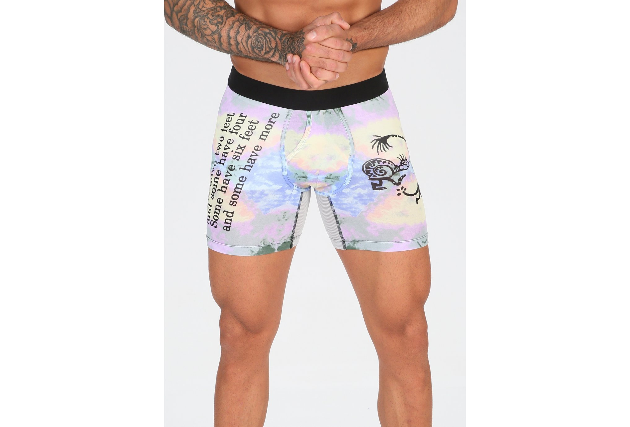 Stance Wholester Six Feet Boxer Brief vêtement running homme
