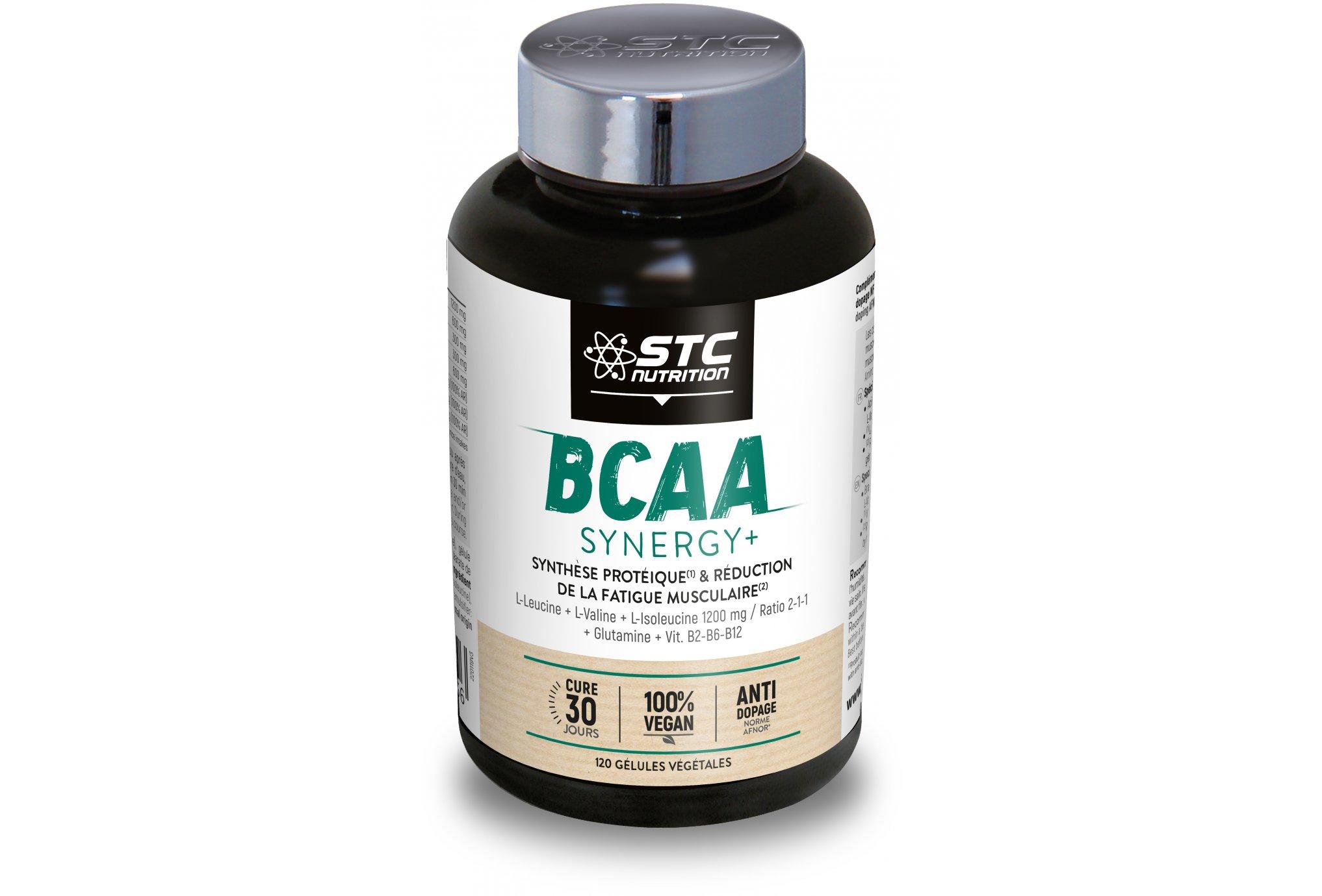 STC Nutrition BCAA Synergy+ 120 gélules - 100% Vegan Diététique Compléments