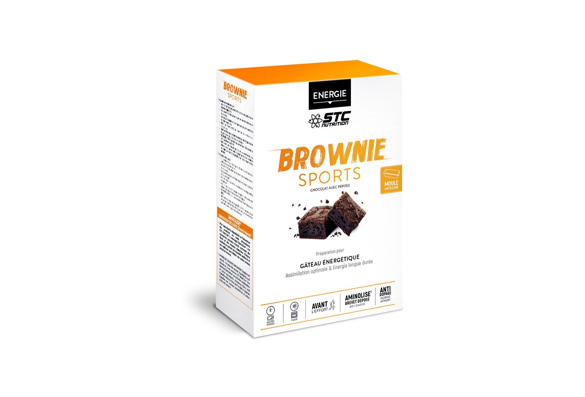 STC Nutrition Brownie sport Diététique Préparation