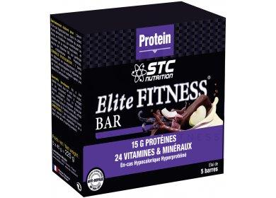 STC Nutrition Etui 5 Barres Elite Fitness Vanille