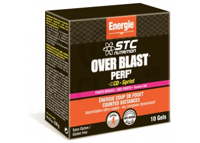 STC Nutrition Etui Gels Over Blast Perf' - Fruits Rouges